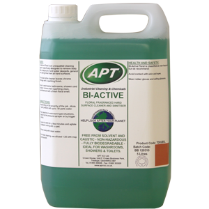 Bi Active - All In One Washroom Supplies and Hard Surface Cleaner