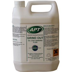Grind Out Oil-Free Grinding Fluid