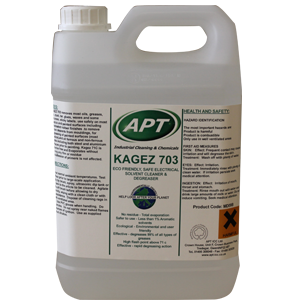Kagez 703 - Quick Drying Safe Solvent Degreaser & Cleaner