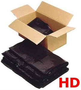 Heavy Duty Disposable Black Bags