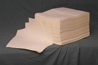 Yellow Non-Lint Bonded Heavy Duty Pads