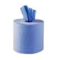 Paper Products - Hand Towels - Centre Feed Blue Rolls 2 Ply LS